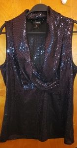 Stunning sequins blouse!!
